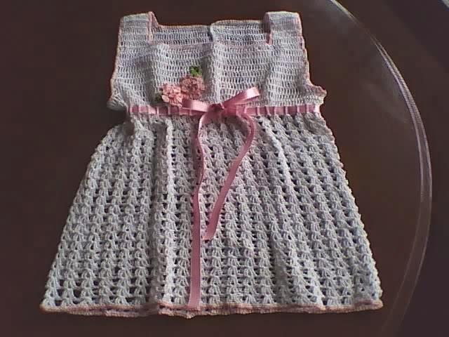 Manualidades Y Algo De Psicología Vestido Tejido A Crochet