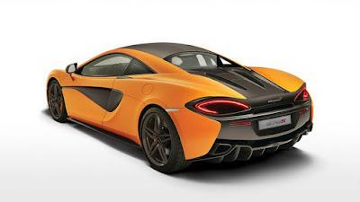 McLaren 570S rear look