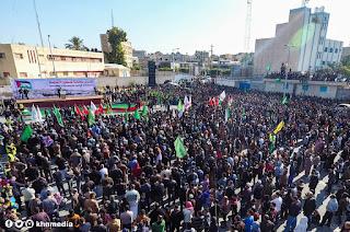 #صور || جماهير خان يونس تنتفض في #جمعة_نفير_القدس