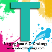 T is for Turquoise & Teal #AtoZChallenge