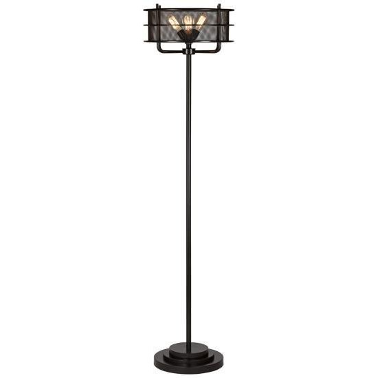 Ovation Industrial Bronze Floor Lamp