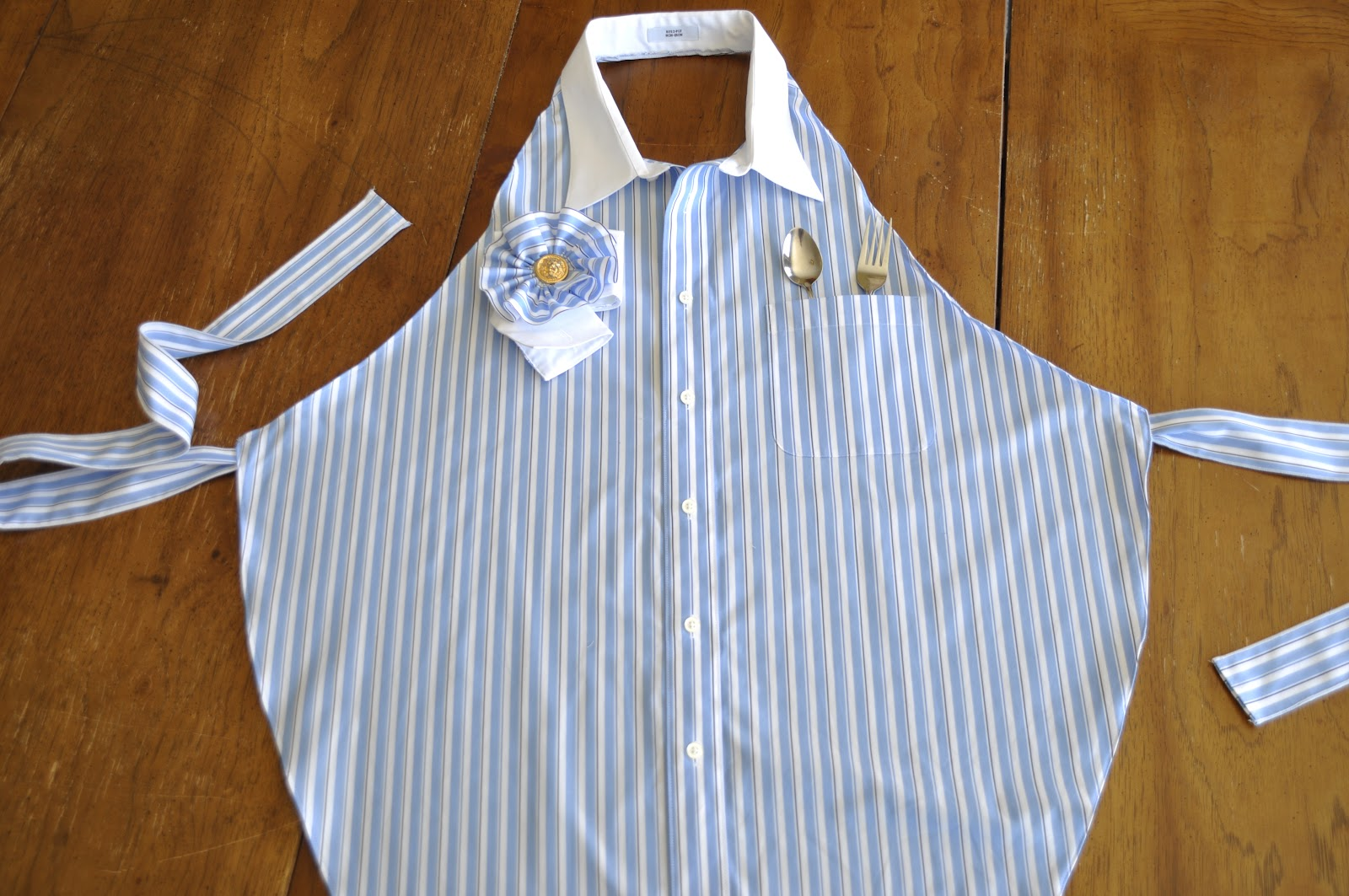 Sassy Bags And Rags Shirt To Apron Tutorial