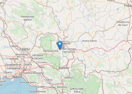 Lo sciame sismico nel Sannio