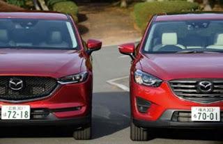 現行CX5と新型CX-5 画像比較