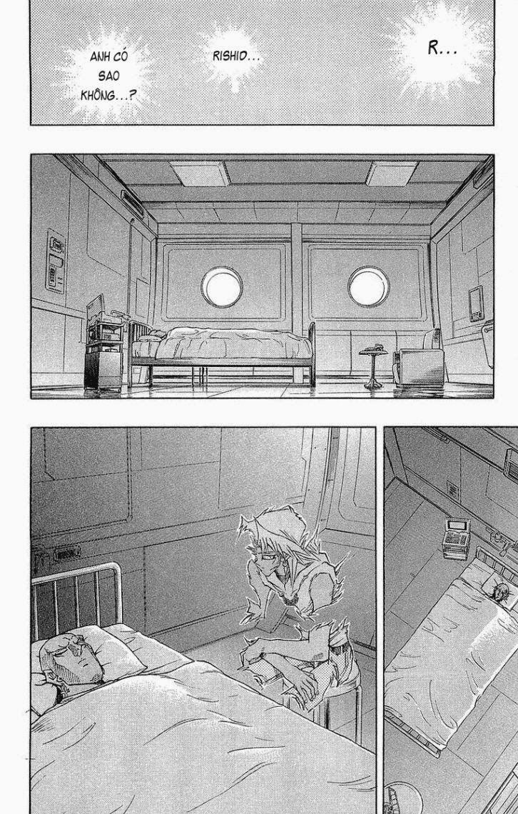 YUGI-OH! chap 271 - lá chắn bất tử trang 9