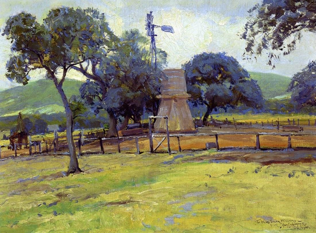 Julian Onderdonk Impressionist Painter Tutt Art