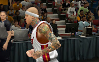 NBA 2K14 Chris Andersen Neck Tattoos
