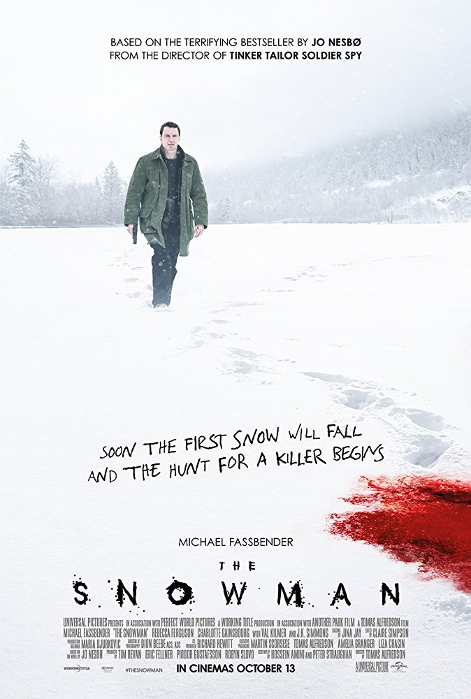 """Number9 Movie Reviews: """"The Snowman"""" – The Iceman Cometh"""