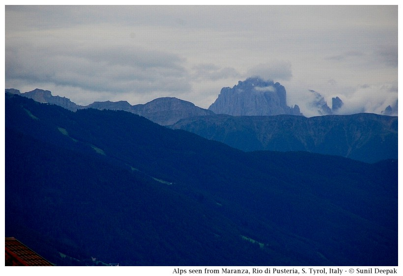 Alp mountains around Maranza (Rio di Pusteria, Alto Adige, Italy) - Images by Sunil Deepak