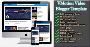 VMotion Video Blogger Template