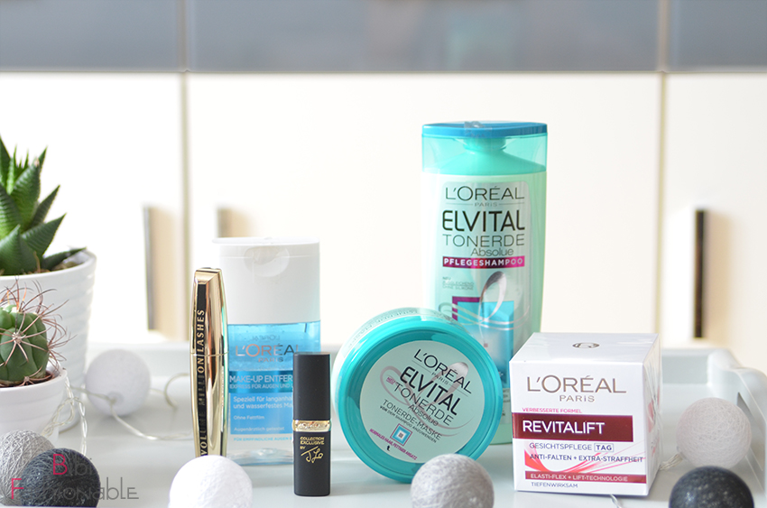 Unboxing 40 Jahre LOreal Box alle Produkte
