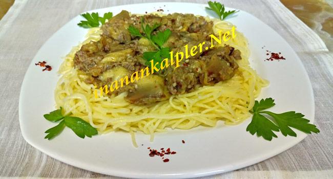 Közlenmiş Patlıcanlı Makarna