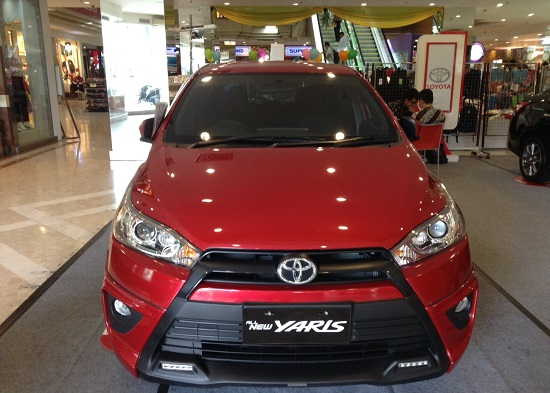 all new yaris trd warna merah