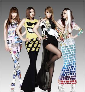 2ne1 girlband