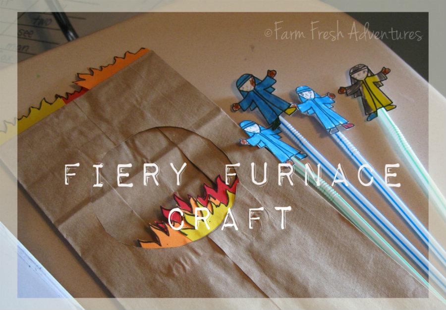 Farm Fresh Adventures: A Fiery Furnace Craft