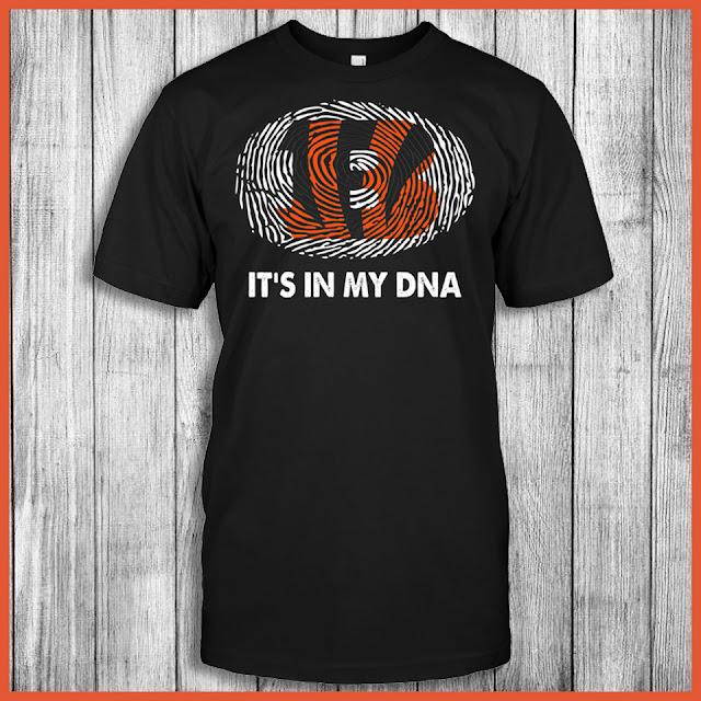 Cincinnati Bengals - It's In My DNA T-Shirt