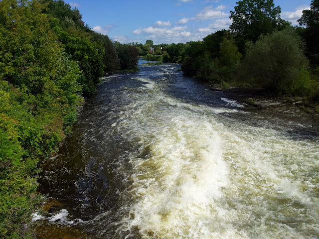 A rushing river - near Facette, Quebec