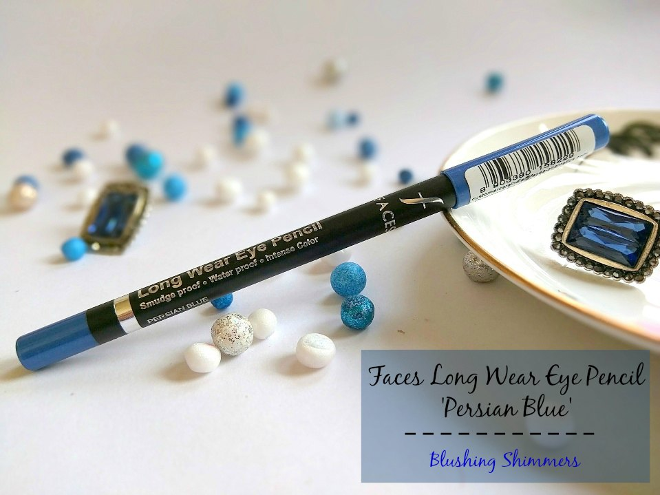 Faces Long Wear Eye Pencil : Persian Blue