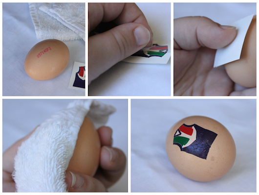 Last Minute Easter Egg Decoration (using what you already have!)