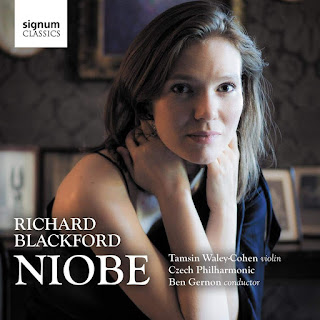 Richard Blackford: Niobe - Tamsin Waley Cohen - Signum Classics