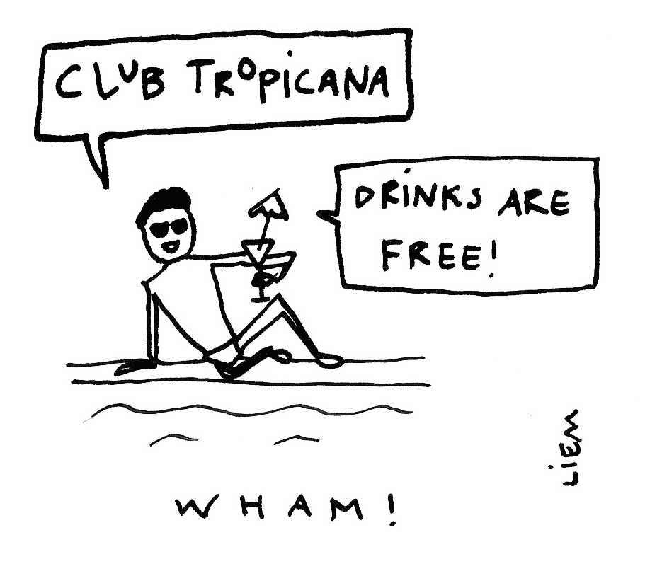 103 Best Images About The Muppets On Pinterest: Sketchbook: 365-Song 45. Club Tropicana