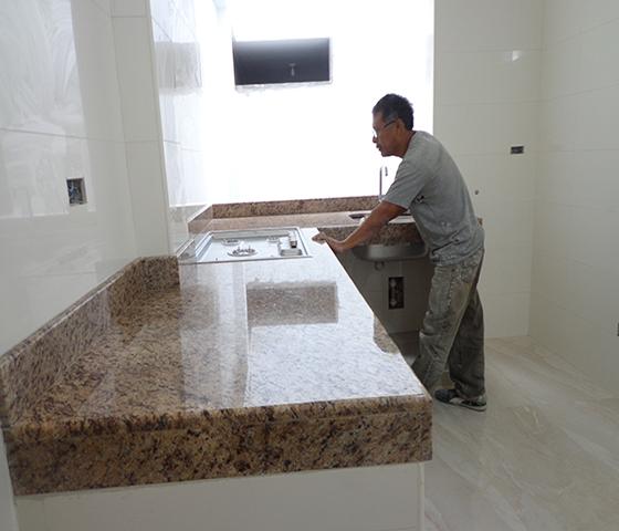 Topes de cocina en granito mantenimiento limpieza - Cuidado del marmol ...