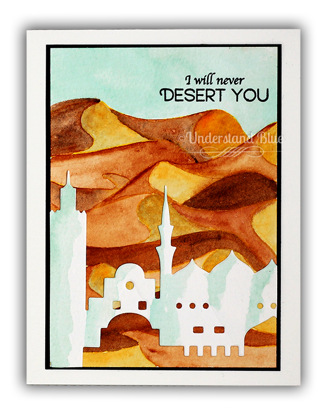Desert Card by Understand Blue