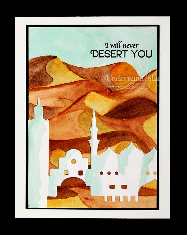 Desert Card by Understand Blue
