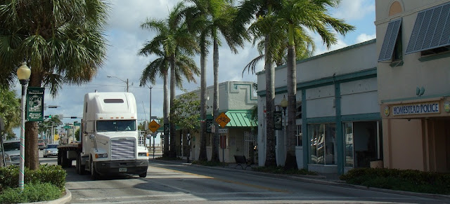 Krome Avenue en Downtown Homestead