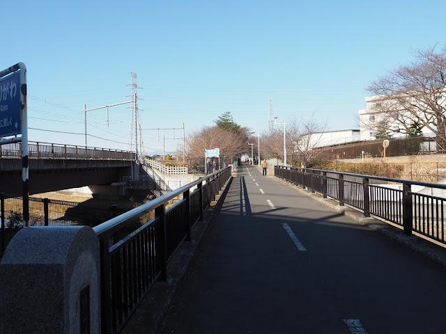 多摩湖自転車道 空堀川