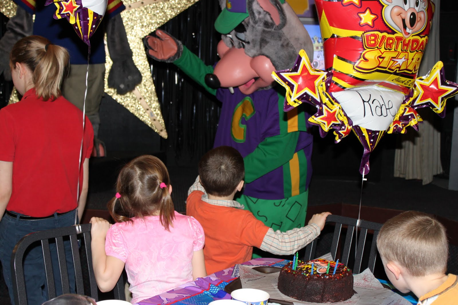 Life Is Beautiful A Chuck E Cheese Birthday