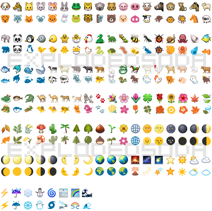 android to iphone emoji ios to hangout emoji comparison explodedsoda 13397