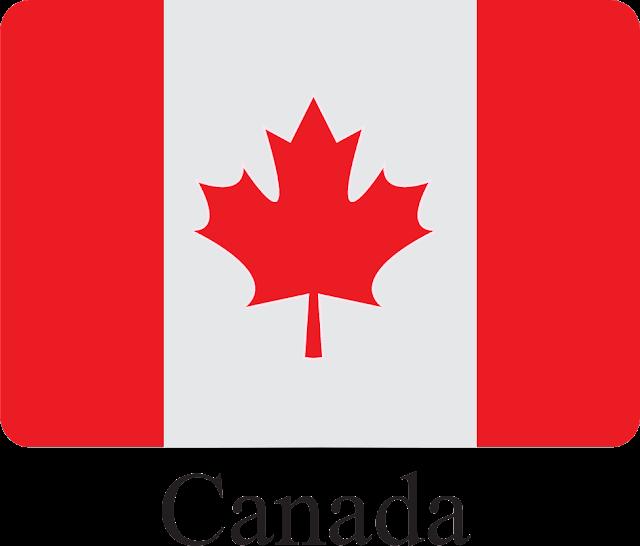 Kanada Bayrağı Vektörel