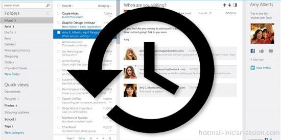 Recuperar tu cuenta de Hotmail