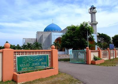Masjid Jamek, Paka