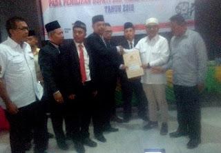 KPU Batu Bara Tetapkan Zahir-Oky Bupati Dan Wakil Bupati Terpilih