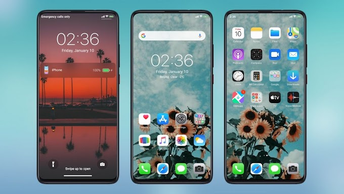 IOS 13 XSky Theme | New iOS Look on MIUI Devices