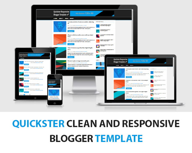 Quickster Blogger template Free