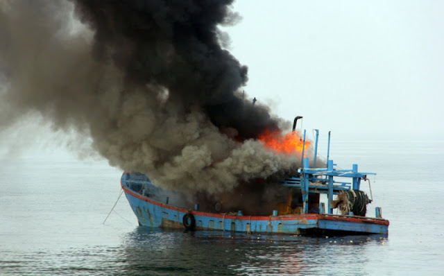 Anak Buah Susi Pudjiastuti: Penenggelaman Kapal Tak Akan Distop