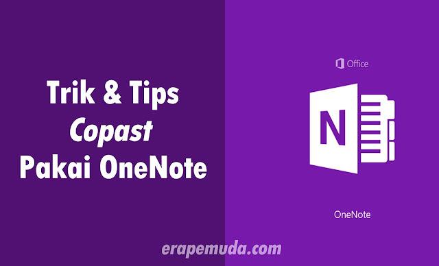 Cara Mudah Menyalin Tulisan dengan OneNote dari Dokumen yang Terkunci, Text Screenshoot, dan Website