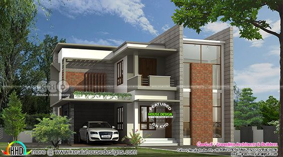 3 bedroom colored contemporary home