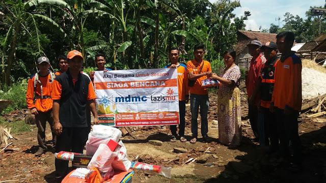 Sinergi aksi Bersama untuk Sesama, lazismu, mdmc dan BPBD Jember