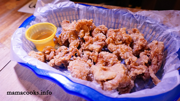 Bok's Restobar- Bacolod restaurant - fried chicken skin