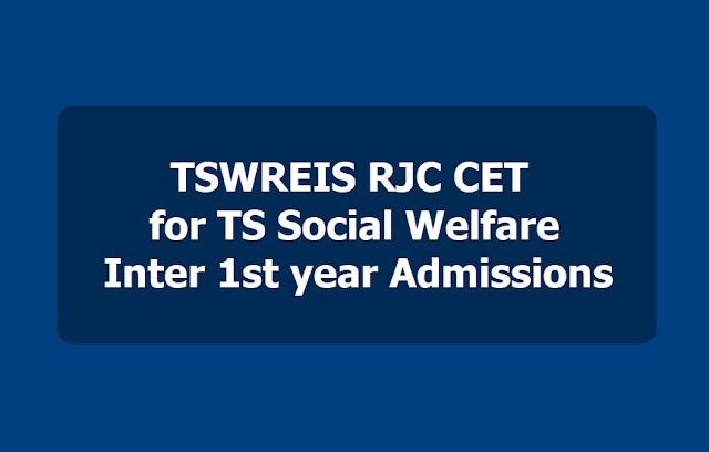 TSWREIS RJC CET