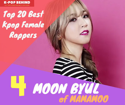 Moon Byul of Mamamoo
