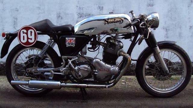 Chiếc cafe racer 1969 Norton Commando