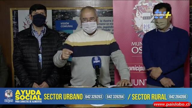 Osorno: Plan para entrega de 18 mil cajas de alimentos en Osorno