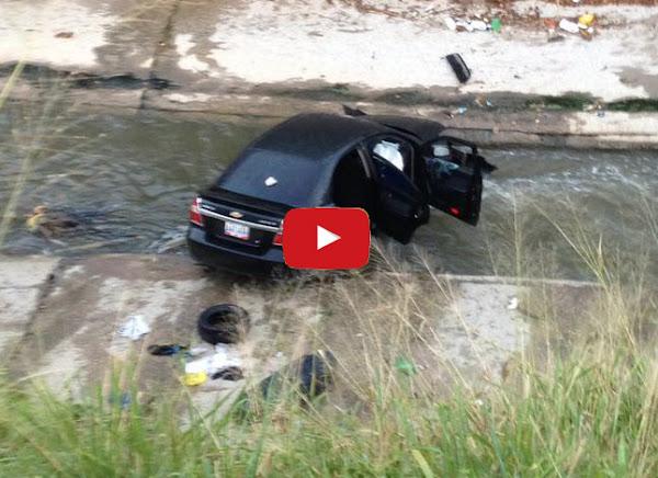 Mujer fallecida al caer en su vehículo al Río Guaire