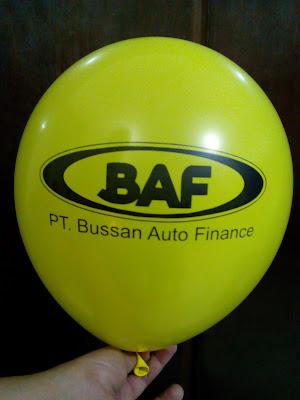 Balon Sablon BAF