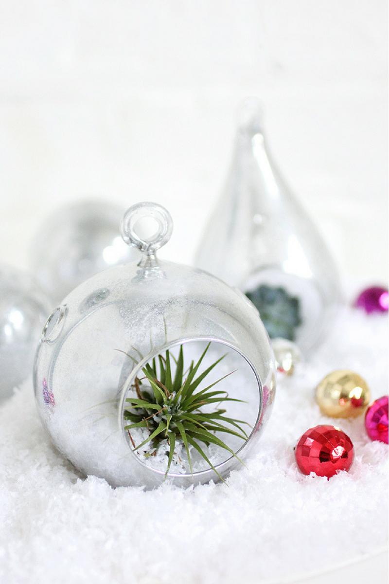 Diy bola de Navidad efecto mercurio by Habitan2 | Upciclyng navideño | Decoración handmade para hogar y eventos